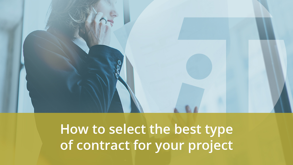 project contract types David Farthing